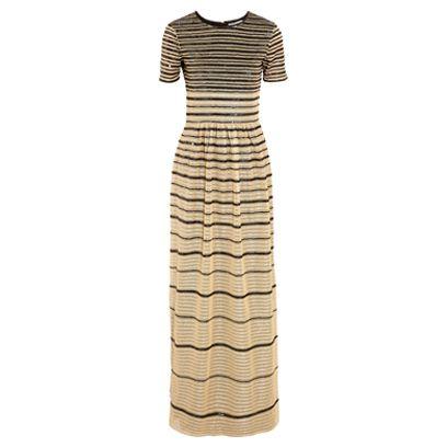 Sleeve, Dress, One-piece garment, Pattern, Day dress, Neck, Fashion design, Pattern, Cocktail dress,