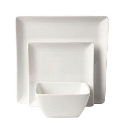 White, Rectangle, Plastic, Grey, Dishware, Serveware, Square, Still life photography, Porcelain,