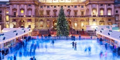 Christmas Ice Skating Rink Decoration.Outdoor Ice Rinks In The Uk Christmas Ice Skating Things