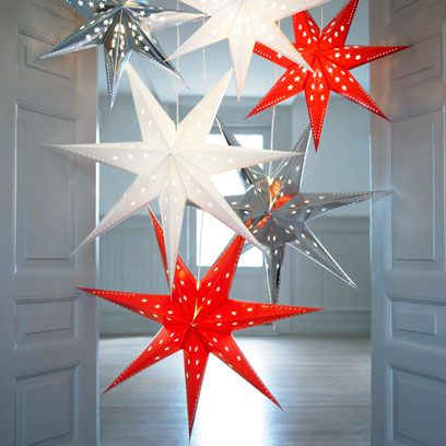 Red, White, Christmas decoration, Pattern, Carmine, Fixture, Door, Star, Christmas, Home door,