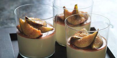Food, Verrine, Cuisine, Dish, Ingredient, Mousse, Panna cotta, Dessert, Semifreddo, Bavarian cream,