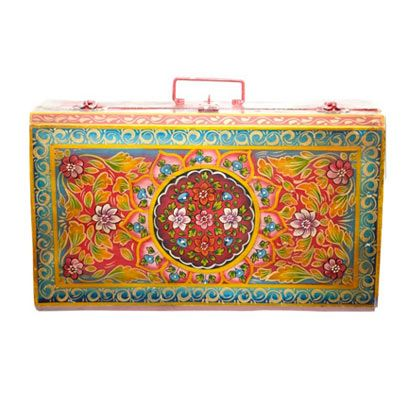 Textile, Pattern, Art, Rectangle, Visual arts, Baggage, Motif, Creative arts, Linens, Shoulder bag,