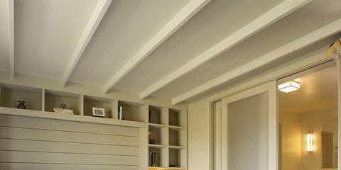 Wood, Room, Floor, Interior design, Bed, Lighting, Property, Wall, Bedding, Textile,