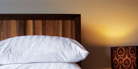 Lighting, Room, Interior design, Textile, Bedding, Bedroom, Linens, Bed sheet, Lamp, Lampshade,