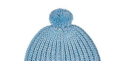 Blue, Textile, Wool, Electric blue, Headgear, Cap, Costume accessory, Woolen, Knit cap, Azure,
