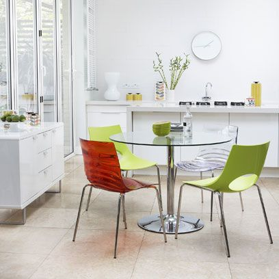 Product, Floor, Room, Interior design, Green, Glass, Furniture, Table, Flooring, White,