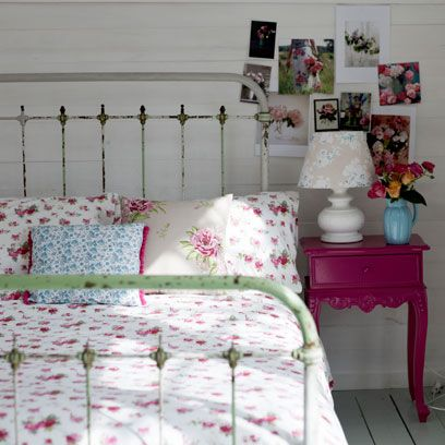 Floral bedroom ideas: Beautiful bedroom decorating ideas