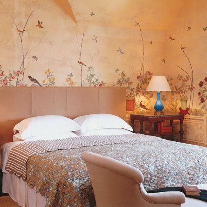 Room, Interior design, Bed, Textile, Wall, Bedding, Bedroom, Furniture, Linens, Bed sheet,