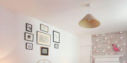 Room, Bed, Interior design, Lighting, Wood, Wall, Floor, Green, Bedding, Property,