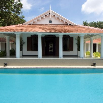 Swimming pool, Property, Real estate, House, Home, Roof, Aqua, Fixture, Residential area, Azure,