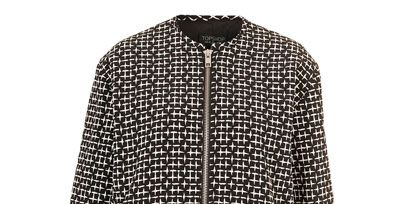 Sleeve, Textile, Collar, Pattern, Style, Grey, Woolen, Pattern, Fashion design, Button,