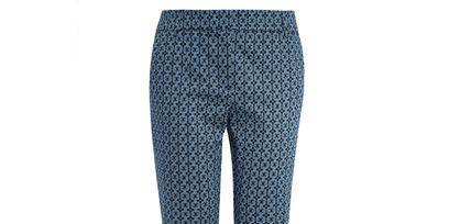 Clothing, Blue, Leg, Textile, Human leg, Joint, Denim, Standing, Line, Electric blue,