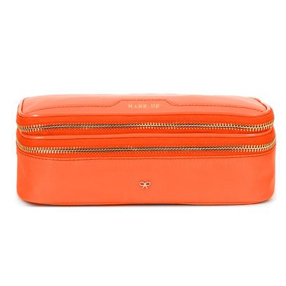 Orange, Red, Travel, Rectangle, Maroon, Peach, Tan, Zipper, Baggage, Coquelicot,
