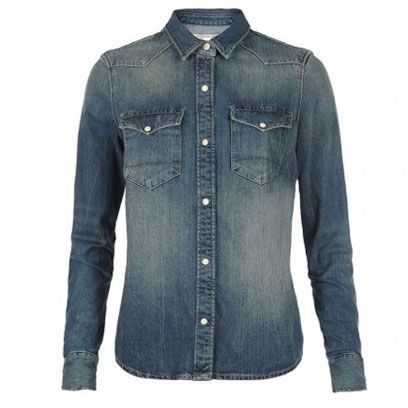 Clothing, Blue, Product, Sleeve, Collar, Denim, Textile, Outerwear, White, Fashion,