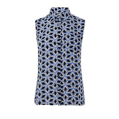 Pattern, Dress, One-piece garment, Electric blue, Aqua, Cobalt blue, Day dress, Pattern, Square,