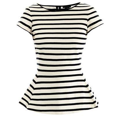 Sleeve, White, Pattern, Style, Line, Neck, Black, One-piece garment, Day dress, Design,