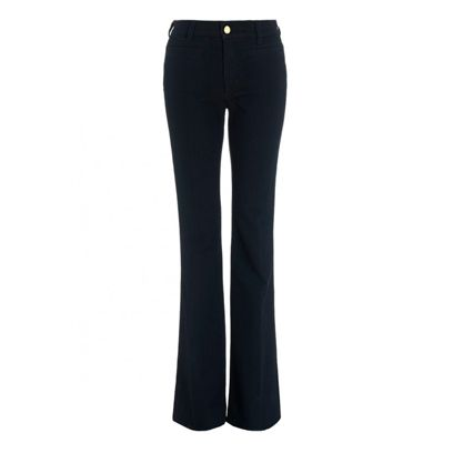 Clothing, Brown, Trousers, Denim, Textile, Jeans, Standing, Pocket, White, Waist,