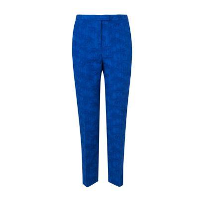 Blue, Denim, Textile, Standing, Jeans, Electric blue, Pocket, Azure, Cobalt blue, Active pants,