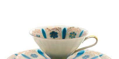 Serveware, Cup, Blue, Dishware, Drinkware, Porcelain, Coffee cup, Teacup, Tableware, Ceramic,