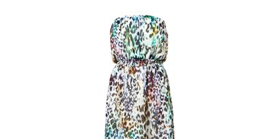 Textile, Teal, Pattern, Aqua, Turquoise, Dress, Creative arts, Visual arts, One-piece garment, Natural material,