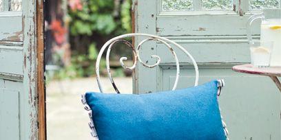 Blue, Textile, Teal, Turquoise, Aqua, Azure, Electric blue, Linens, Cushion, Pillow,