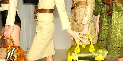Clothing, Yellow, Human leg, Pattern, Bag, Style, Fashion, Dress, Orange, Luggage and bags,