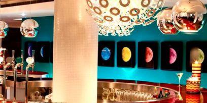 Lighting, Interior design, Light fixture, Lighting accessory, Decoration, Interior design, Theatre,