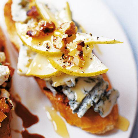 Vegetarian canapé recipes