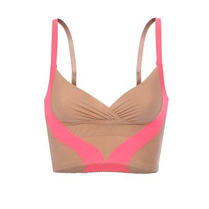 Brassiere, Pink, Undergarment, Pattern, Carmine, Maroon, Tan, Lingerie, Lingerie top, Swimsuit top,