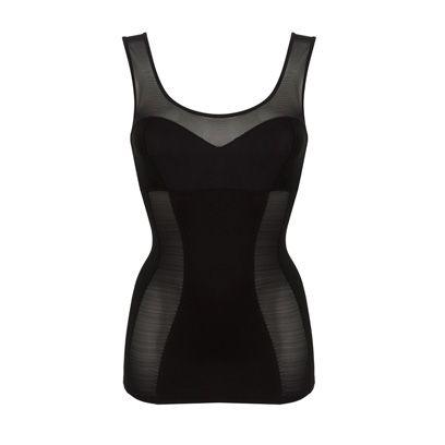 White, Pattern, Neck, Black, One-piece garment, Grey, Sleeveless shirt, Active tank, Undergarment, Undershirt,
