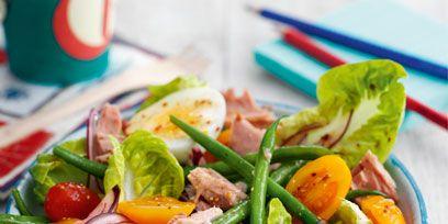 Dish, Food, Cuisine, Garden salad, Salad, Ingredient, Vegetable, Salad niçoise, Spinach salad, Produce,