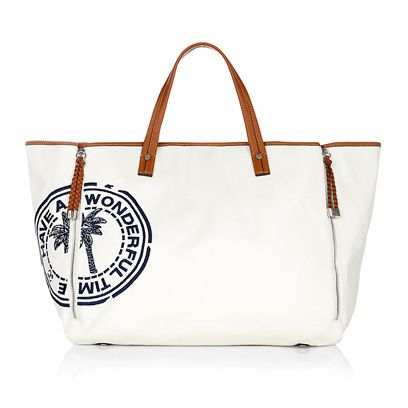 Product, Bag, White, Style, Luggage and bags, Fashion accessory, Shoulder bag, Tote bag, Beige, Material property,