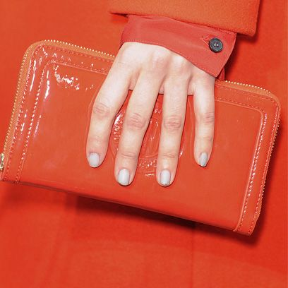 Textile, Red, Nail, Tan, Bag, Beige, Leather, Wallet, Material property, Nail care,