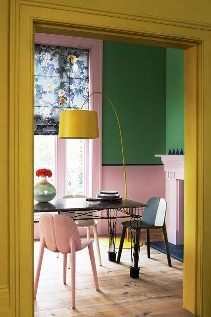 Decorating With Pink Colour Schemes