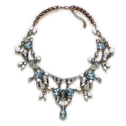 Jewellery, Blue, Fashion accessory, Body jewelry, Aqua, Natural material, Teal, Turquoise, Fashion, Necklace,