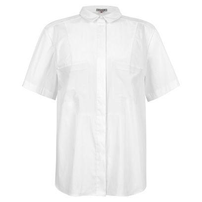 Product, Sleeve, Collar, Textile, White, Fashion, Grey, Brand, Fashion design, Clothes hanger,