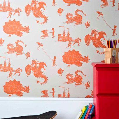 Orange, Wall, Wall sticker, Art, Peach, Paint, Interior design, Creative arts, Wallpaper, Stationery,