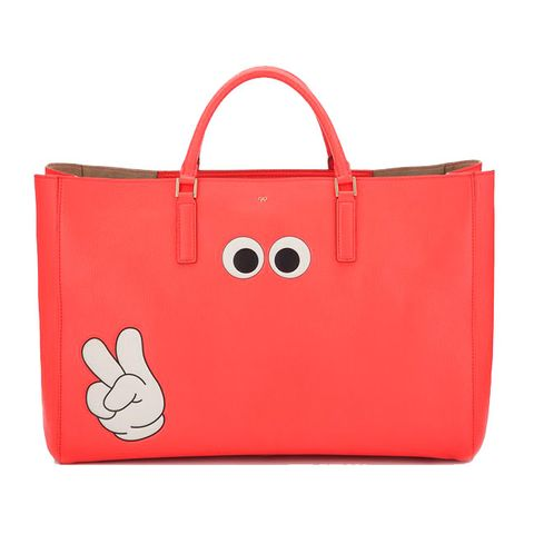 Product, Bag, Red, Luggage and bags, Shoulder bag, Leather, Material property, Coquelicot, Strap, Tote bag,