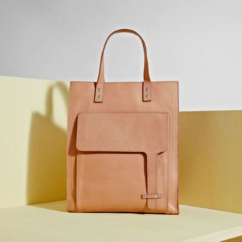 Great Plains Leather Tote