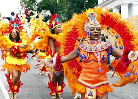 Carnival, Samba, Event, Festival, Public event, Dancer, Folk dance, Dance, Tradition, Performing arts,