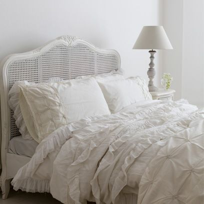 Bedroom paint colours tend to fall anywhere on the chart but all white rooms are a classic choice when it comes to bedroom design. & All white room ideas  Decorating ideas for the home