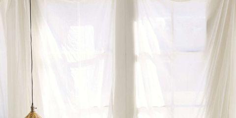 Interior design, Room, Bed, Textile, Bedroom, Bedding, Furniture, Linens, Bed sheet, Window treatment,