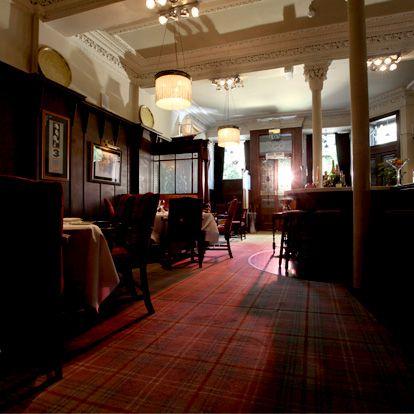 Building, Restaurant, Room, Interior design, Café, Flooring, House, Bar, Lobby,