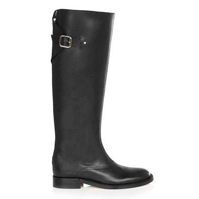 Boot, Riding boot, Black, Leather, Knee-high boot, Liver, Motorcycle boot, Synthetic rubber, Rain boot, Steel-toe boot,