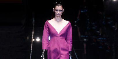 Fashion show, Style, Runway, Fashion model, Model, Haute couture, Fashion design, Costume design, Makeover, Silk,