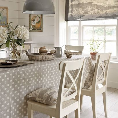 Country-style Rooms | Bedroom, dining room, and kitchen ideas