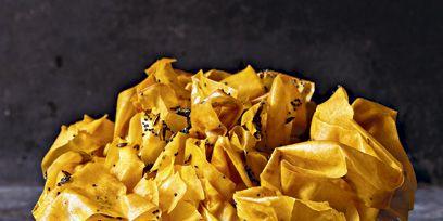 Yellow, Amber, Junk food, Still life photography, Natural material,