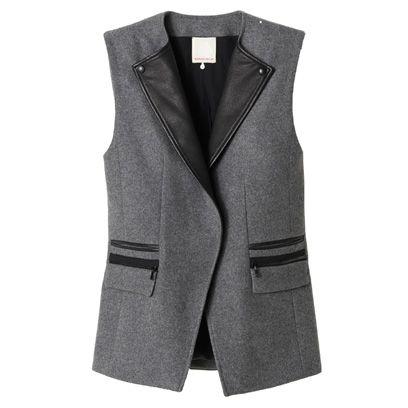 Coat, Collar, Sleeve, Textile, Outerwear, Style, Blazer, Fashion, Black, Button,