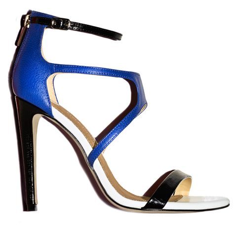 Blue, Brown, Product, High heels, Basic pump, Electric blue, Azure, Sandal, Beige, Tan,