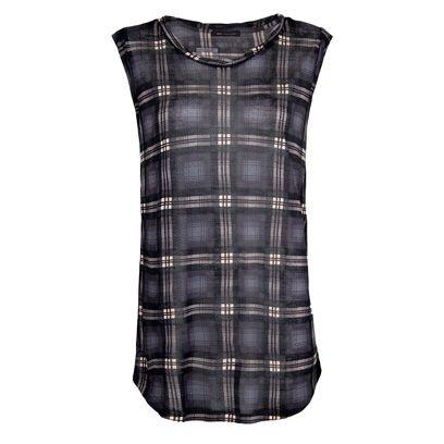 Product, Plaid, Pattern, Textile, White, Collar, Tartan, Style, Black, Grey,